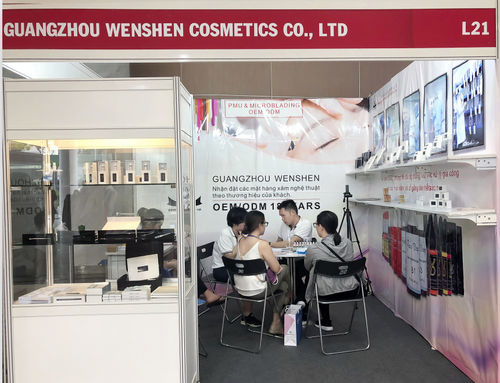 2019.04.18-2019.04.19 Guangzhou Wenshen Cosmetics Co.,Ltd attend the Cosmobeauté Vietnam 2019