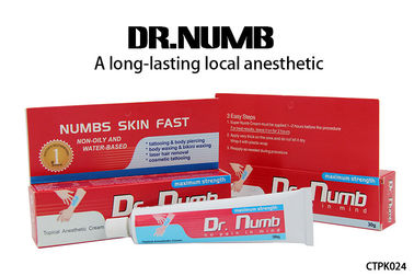 Dr. Numb Gel External Use Strongest Tattoo Numbing Cream 5% Lidocaine