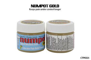 Numpot Gold Permanent Makeup Numbing Cream Tattoo  5% Ointment Pain Control