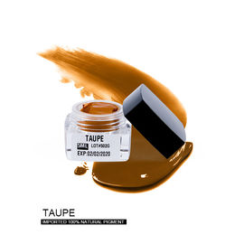 Permanent Makeup / Microblading Pigment Stable Taupe Color For Prevent Redness