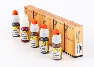China 8ML Plant Essence Lushcolor Permanent Makeup Pigment For Training supplier