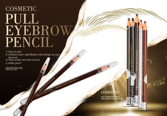 Professional Waterproof Full Eyebrow Pencil for Positioning And Marking