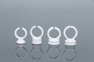 Disposable White Ring Cup For Semi Permanent Makeup Pigment And Tattoo Ink
