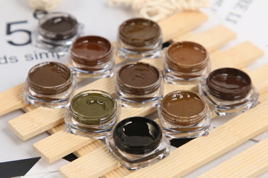 3ml Semi Permanent Makeup Pigments For Eyeline / Micropigmentation Pigments