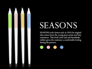Seasons Disposable Microblade Pen For Eyebrow Tattoo / Hair Stroking