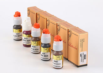 China Lushcolor Permanent Makeup Ink / Microblading Pigment 8 Ml / Bottle supplier