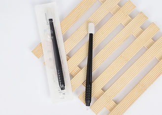 China Clean And Hygienic Black Disposable Microblading Pen With EO Gas Sterilized supplier