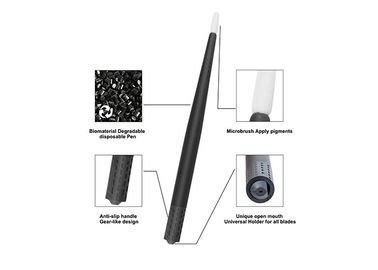 China Black Universal Eccentric Microblading Blade Holder Face Deep Biodegradable Universal Eco - Holder supplier