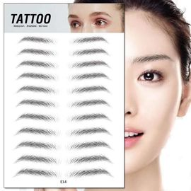 Water Proof Microblading Accessories Disposable Eyebrow Stamp For Tattoo