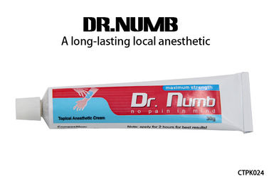Topical Tattoo Anesthetic Cream Dr. Numb Cream With 5% Lidocaine