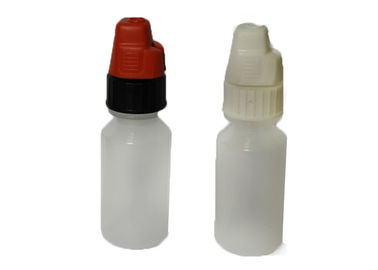Tattoo Ink 4ml LDPE Plastic Bottles / Clear Plastic Dropper Bottles With Cap
