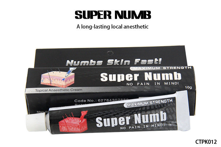 10g super numb 5 anesthetic skin numbing cream for for Numbing for tattoo