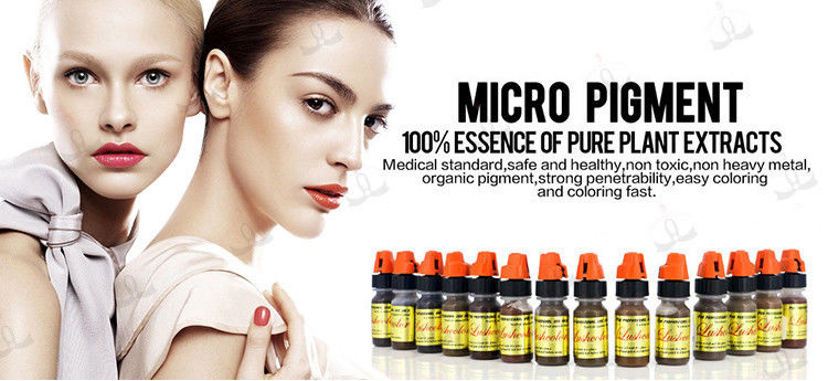 CE Semi Permanent Makeup Pigments Micro Pigment Ink For Permanent Makeup Tattoo