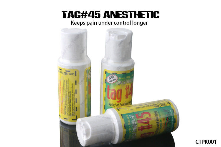 Topical Anesthetic Cream During Treatment TAG #45 With 4% Lidocaine ...