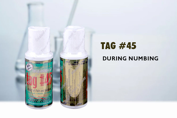 Tag # 45 Topical Anesthetic Gel Tattoo Anesthetic Cream With 4 ...