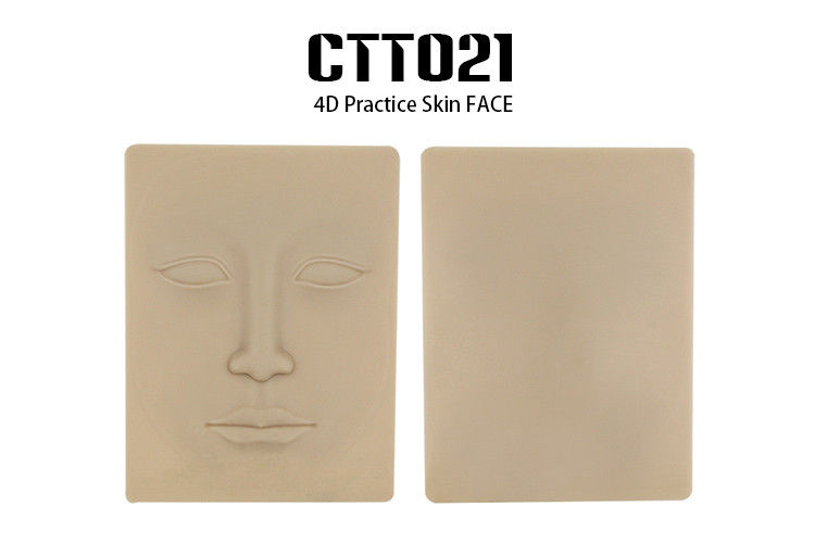 Four dimensional face permanent makeup practice synthetic for Artificial skin for tattooing