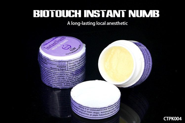 12g / Piece Biotouch Instant Numbing Cream For Tattoos