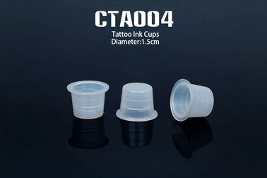 China Professional Tattoo Accessories Disposable Ring Cup For Permanent Makeup Tattoo distributor