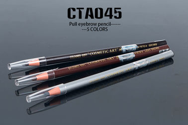 China Permanent Eyebrow Pencil Paper Roll Tattoo Accessories 5 Colors Available distributor