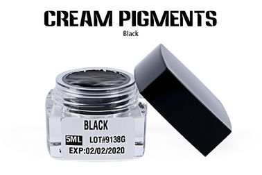 China OEM Availble Black Cream Permanent Cosmetic Pigments For Eyebrow factory