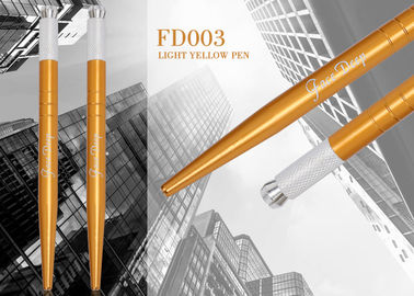 China 30G Durable Face Deep Light Manual Tattoo Pen For Permanent Makeup Use distributor