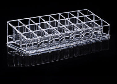 China Tattoo Accessories / Clear Acrylic Tattoo Ink Holder 24 Grids factory