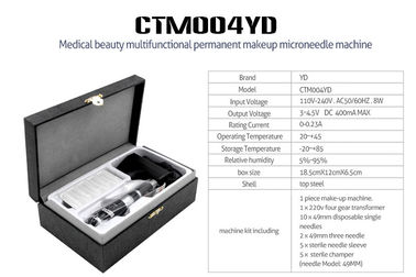 China Custom Electric Permanent Makeup Machine Kit / Eyebrow Tattoo Machine factory