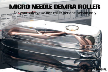 China Medical Standard Stainless Steel / Titanium Microneedle Derma Roller Approved CE distributor