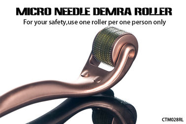 China Newest High Quality Anti Wrinkle Micro Needle Derma Roller For Skin Care distributor