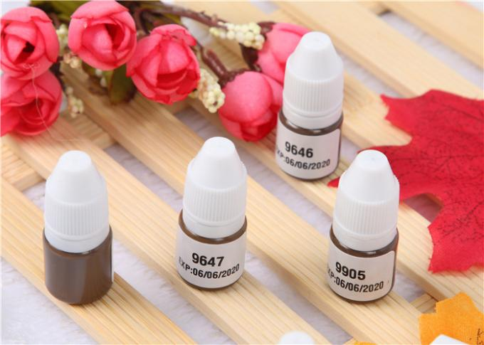 4ML Lushcolor Permanent Makeup Microblading Pigment For Hair Stroking