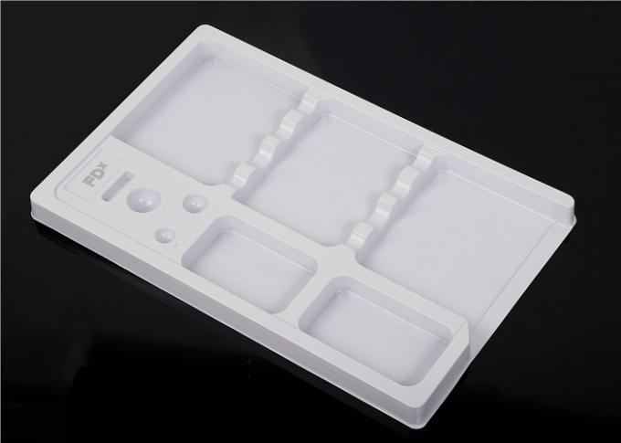 White Color Plastic Permanent Makeup Tray For Holding PMU Goods
