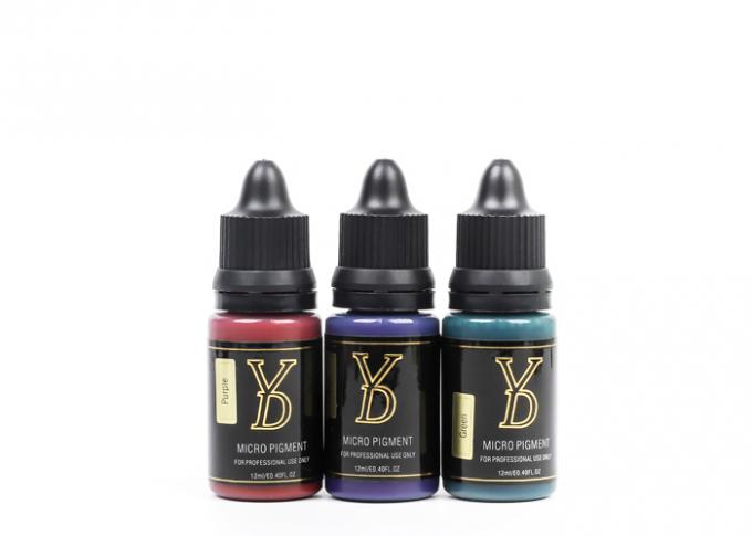 YD Water Based PMU Pigment For Permanent Makeup Tattoo Machine