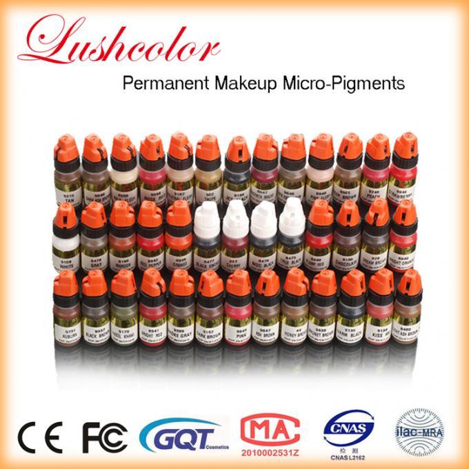 Tattoo Semi Permanent Makeup Pigments Ink Lushcolor